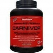 MuscleMeds - Carnivor Bioengineered Beef Protein Isolate Vanilla Caramel - 4.2 lbs.