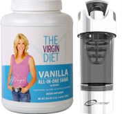 The Virgin Diet All-In-One Shake, 30-servings with Cyclone Cup