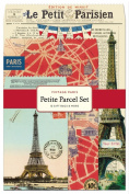 Cavallini 12-Pack Petite Vintage Paris Parcel Set
