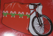 Giant Bike Gift Wrap Bag Christmas Bicycle Gift Wrap
