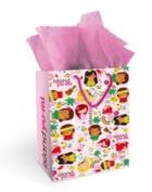 Hawaiian Gift Bag Island Yumi Pink Medium