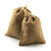 25cm X 36cm Burlap Bag with Drawstring Bag Eco Friendly Natural Colour Jute Pouch