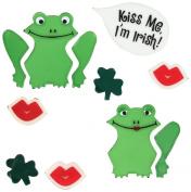 Design Ideas GelGems Bag, Small, Irish Frogs