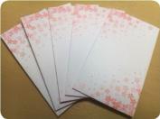 Japanese Small Tiny Gift Envelopes - Pochi Bukuro, Sakura Cherry Blossom Design, 10pcs