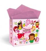 Hawaiian Gift Bag Island Yumi Pink Large