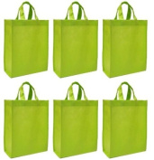 Reusable Gift Bags, Medium, 6 Pack