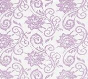 Lavender Elegant Lace (60cm w X 250cm l) Cellophane Roll