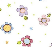 Spring Dreamin' Adorable Flowers (60cm X 100') Cellophane Roll Wrap