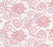 Pink Elegant Lace (60cm w X 250cm l) Cellophane Roll