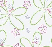 Pretty Blooms (60cm w X 250cm l) Cellophane Roll