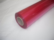 10m x 80cm Roll Tinted Cerise Cellophane Wrap. Florist Quality Bouquet / Gift...