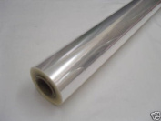 20m x 80cm Roll Clear Christmas Cellophane Florist Wrap (40 MICRONS in thickn...