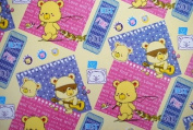 """Gift Wrapping Paper - """"Just for You"""" Bears"""