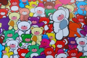 Gift Wrapping Paper - Colourful Bears