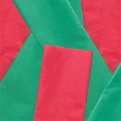 100 Red & Green Christmas Tissue Paper