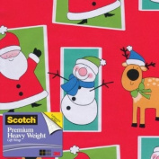 Scotch Gift Wrap, Character Frames Pattern, 25-Square Feet, 80cm x 10-Feet