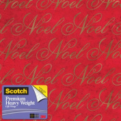 Scotch Gift Wrap, Crackle Verbiage Pattern, 25-Square Feet, 80cm x 10-Feet