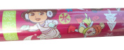 Nickelodeon ~ DORA the EXPLORER ~ Christmas Wrapping Paper 40 Sq. Ft-1 Roll
