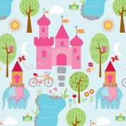 Princess Playground Rolled Gift Wrap