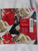 Hallmark - Barbie Holiday Gift Wrap - 8-1/3 Sq. Ft (2 Sheets) - 1995