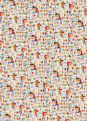 Retro Party Rolled Gift Wrap Paper