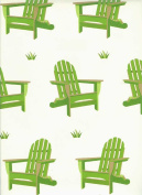 Adirondack Chairs Rolled Gift Wrap Paper