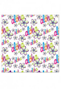 Hawaiian Continuous Gift Wrap Rolled Bold Aloha
