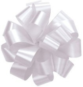 Set of 10 Medium 13cm Diameter Satin Pull Bows Available in White, Red, Green, Silver, Teal, Yellow, Pink, Orange, Purple, Royal Blue, Light Blue, Black and Gold Colours, for Gifts, Packages, Boxes, Birthdays, Anniversaries, Parties and Holidays Such a ..