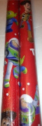 Disney / Pixar TOY STORY ~ Toy to the World ~ Christmas Wrapping Paper 40 Sq. Ft.