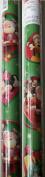 Hallmark's Disney Mickey Mouse Clubhouse w/Santa Christmas Gift Wrap 40 Sq. Ft.