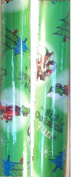 Disney Pixar ~ CARS ~ Green Christmas Wrapping Paper 45 Sq. Ft