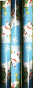 FROSTY the Snowman ~ Christmas Wrapping Paper 40 Sq. Ft.