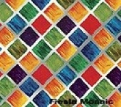 17cm x 20cm Fiesta Mosaic Gift Wrapping Sleeves 24/Pack
