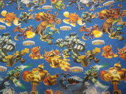 Skylanders Giants Gift Wrap Paper 20 Sq Ft