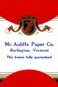 Buy Enlarge 0-587-23083-5P12x18 Mc Auliffe Paper Co. Broom Label- Paper Size P12x18
