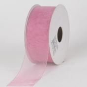 Mauve Sheer Organza Ribbon 2.2cm 25 Yards