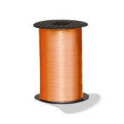 Orange Crimped Curling Ribbon