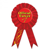 Official Carver Ribbon Party Accessory (1 count)