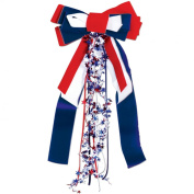 Patriots Pride Ribbon (red, white, blue) Party Accessory (1 count)