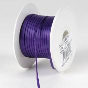 Purple Satin Ribbon 0.2cm 100 Yards