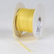 Yellow Satin Ribbon 0.2cm 100 Yards