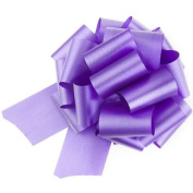 Coloured Poly Ribbon Pull Bows - Large - Navy Blue