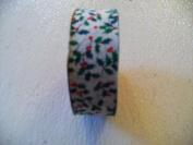 3 Rolls 12' X 3.5cm Wide Craft & Floral Novelty Ribbon
