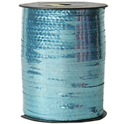Metallic Blue Large Spools of Curling Ribbon - sold individually