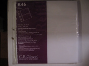 CR Gibson Pocket Sheets Refills,
