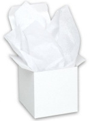 Acid-free White Tissue Paper 38cm x 50cm , Pack of 20 Sheets