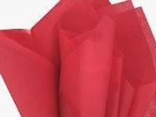 Tissue Paper RED ~ FOR CRAFTS & GIFT BAGS