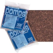 Brown Pomps Tissue Squares
