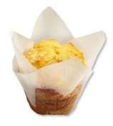 White Flower Blossom Petals Tulip Large Baking Cups