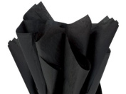 Black Tissue Paper 38cm X 50cm - 100 Sheets